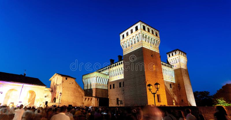 Vignola Castle Μοντένα Ιταλία στοκ φωτογραφίες
