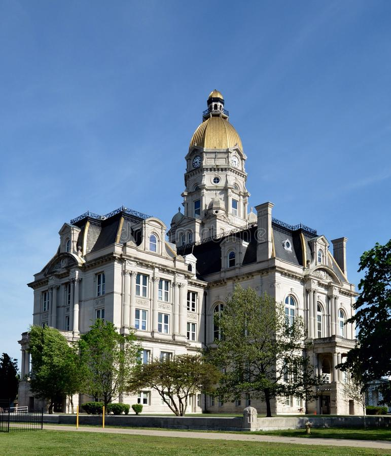 Vigo County Courthouse photo stock