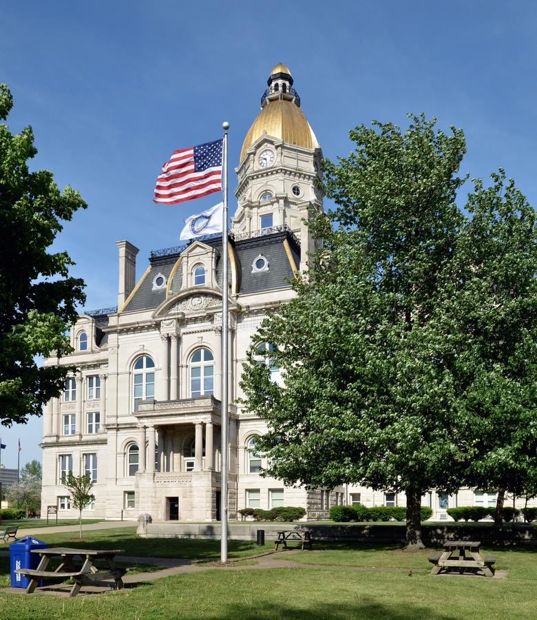 Vigo County Courthouse royalty free stock images