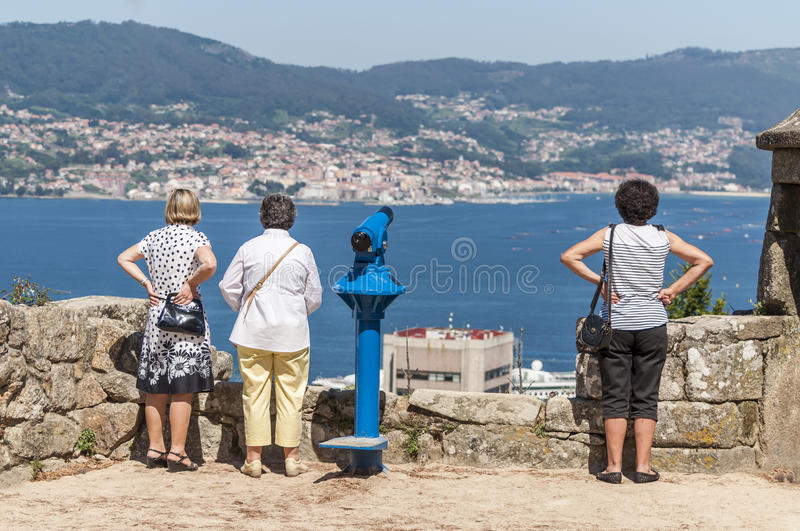 Download Vigo tourists editorial stock photo. Image of vacation - 42195128