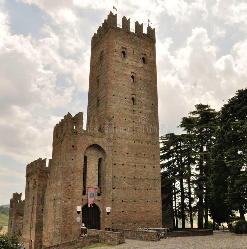 Castell'Arquato royalty free stock photo