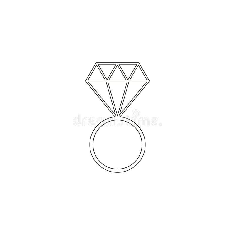 Vigselringsymboler det för att gifta sig beröm vektor illustrationer