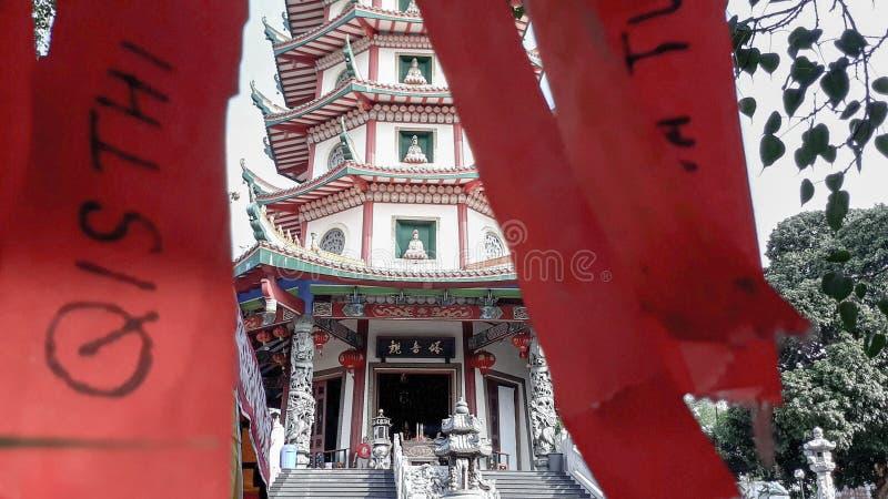 Vihara Buddhagaya 图库摄影