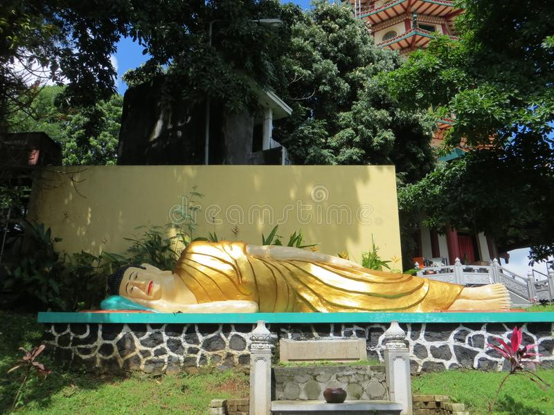 Vihara Buddhagaya Watugong in Semarang royalty-vrije stock foto's