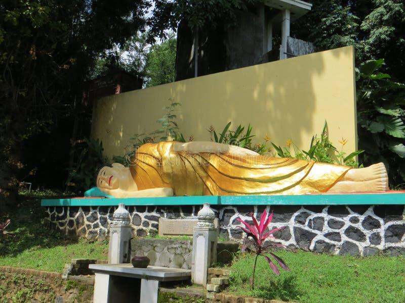Vihara Buddhagaya Watugong in Semarang stock afbeeldingen