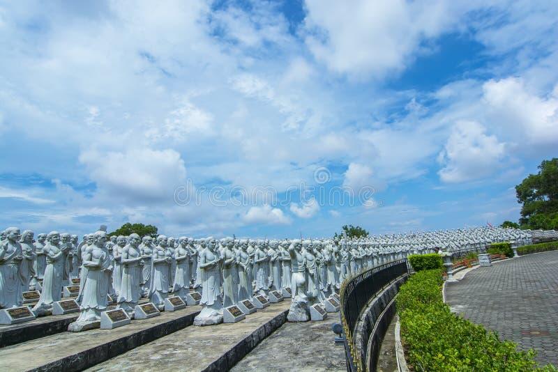 Vihara ksitigarbha菩萨民丹岛 免版税库存图片