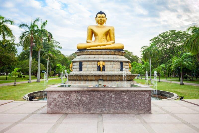 Viharamahadevi公园在科伦坡 免版税库存图片
