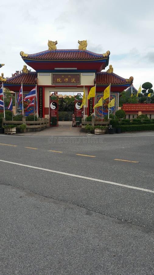 Viharn Sien Temple & museu Pattaya (Thailandia) imagens de stock royalty free