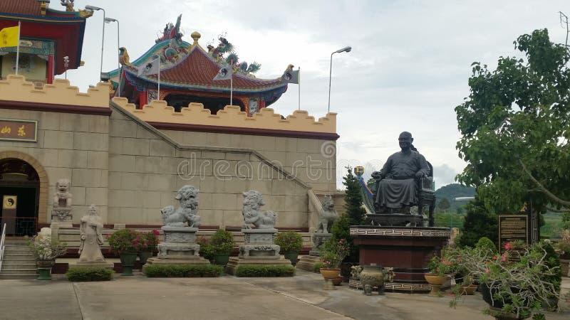 Viharn Sien Temple & museu Pattaya (Thailandia) imagem de stock royalty free