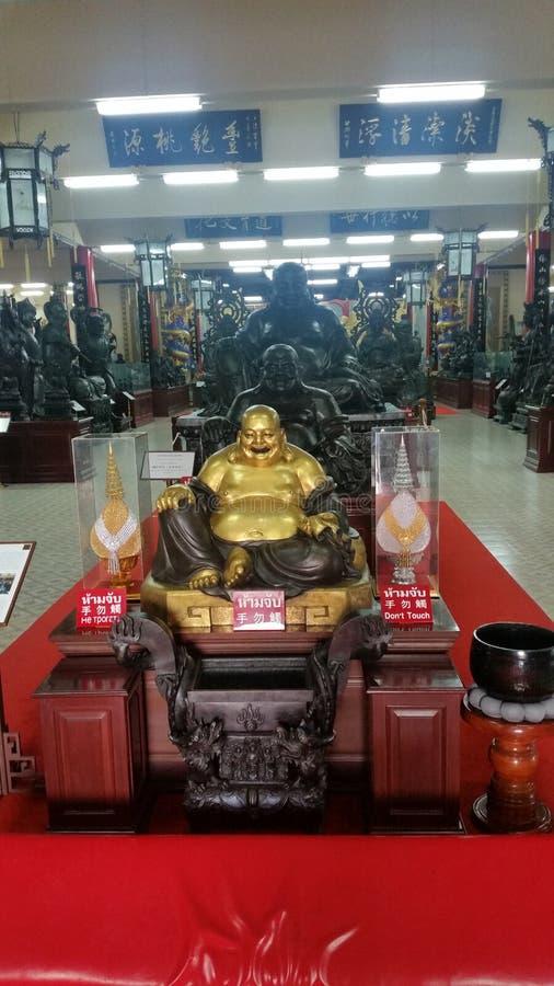 Viharn Sien Temple & museu Pattaya (Thailandia) imagens de stock