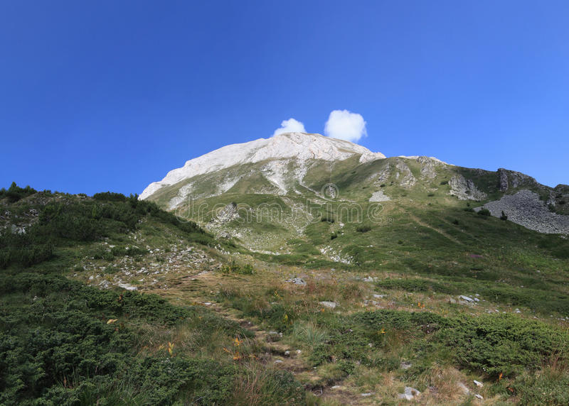 Vihren maximal, montagne de Pirin, Bansko, Bulgarie, Europe de l'Est photos stock