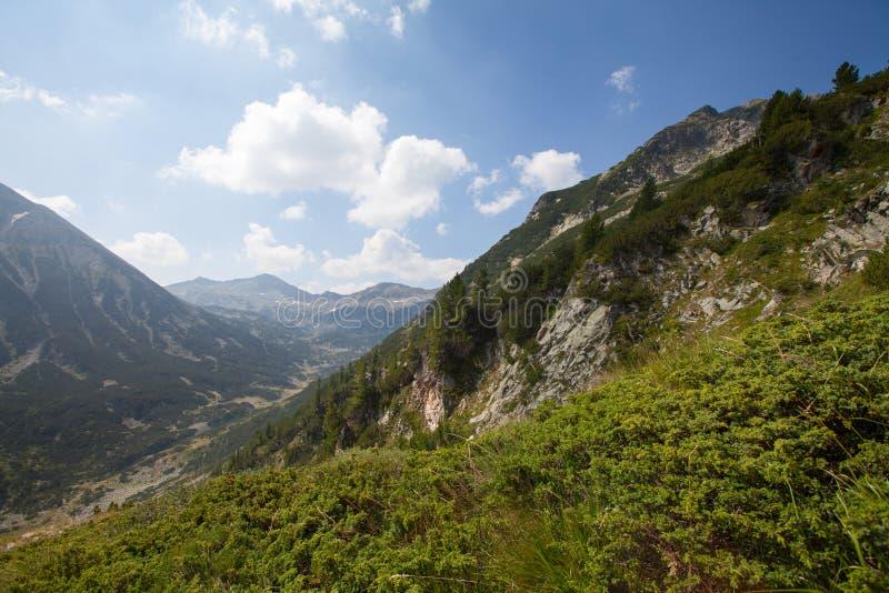 Vihren maximal, montagne de Pirin, Bansko, Bulgarie, Europe de l'Est photo stock