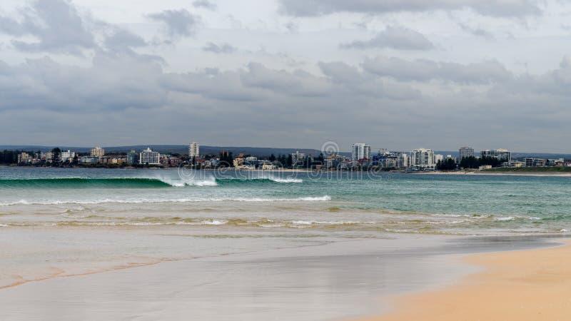 Viiew w kierunku Cronulla w Sydney zdjęcie stock