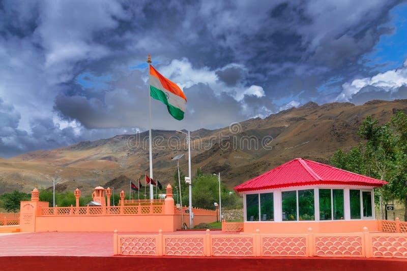 Vijay Rath minnesmärke, Kargil, Ladakh royaltyfri bild
