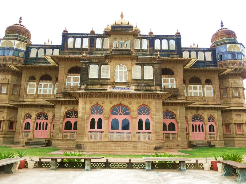 Vijay Vilas Palace - Kutch, Goudjerate, Inde photographie stock