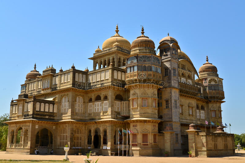 Vijay vilas palace kutch royalty free stock image