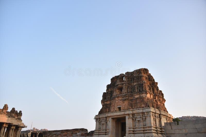 Vijay Vittala świątynia, Hampi, Karnataka, India obraz stock