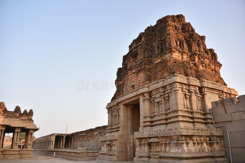 Vijay Vittala tempel, Hampi, Karnataka, Indien arkivbilder