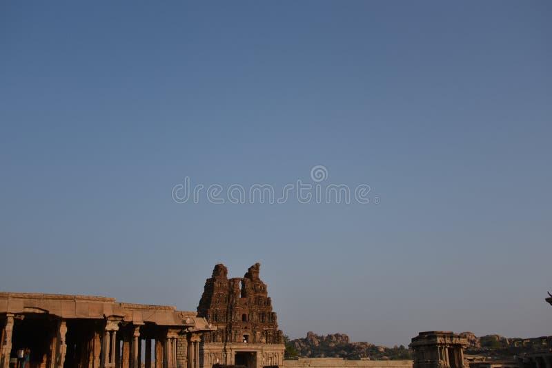 Vijay Vittala temple , Hampi, Karnataka, India stock image
