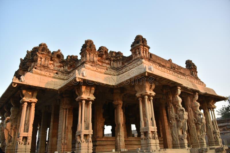 Vijay Vittala temple, Hampi, Karnataka, India royalty free stock photo