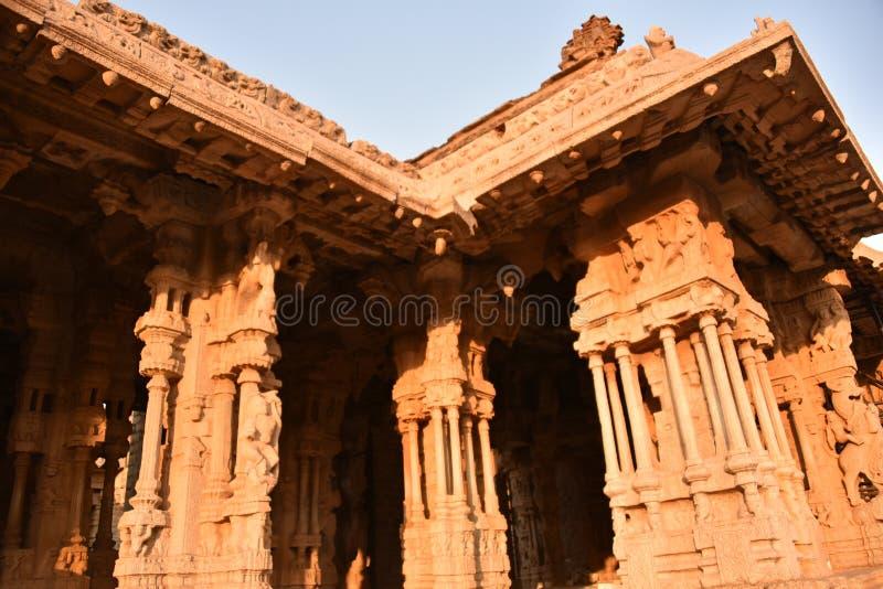 Vijay Vittala temple, Hampi, Karnataka, India royalty free stock image