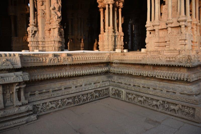Vijay Vittala temple, Hampi, Karnataka, India stock image