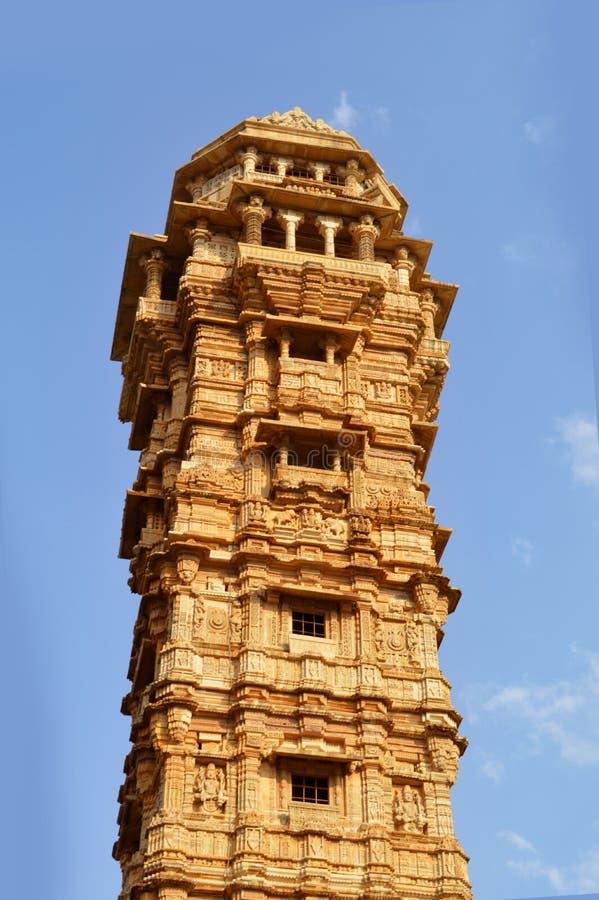 Vijaya Stambha, Udaipur, Rajasthan, India. Tower of Fame royalty free stock photo