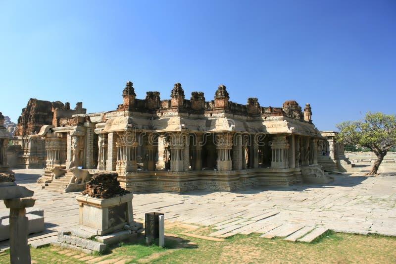 The Vijaya Vittala Hindu temple in Hampi. A UNESCO World Heritage Site, Karnataka, India royalty free stock photo
