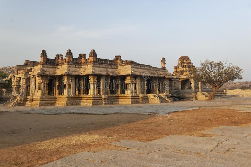 Vijaya Vittala Temple Hampi,Karnataka,India. Asia royalty free stock image