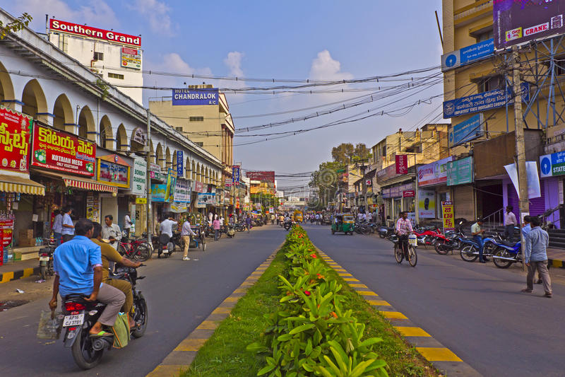 vijayawada fotografia stock libera da diritti