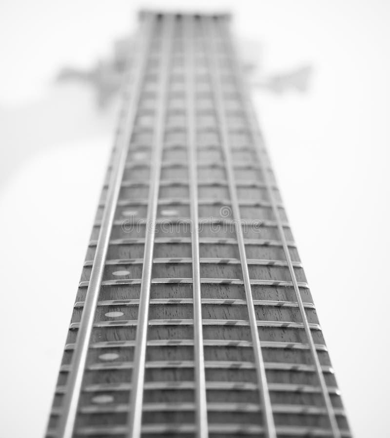 Vijf Koord Bass Guitar stock afbeeldingen