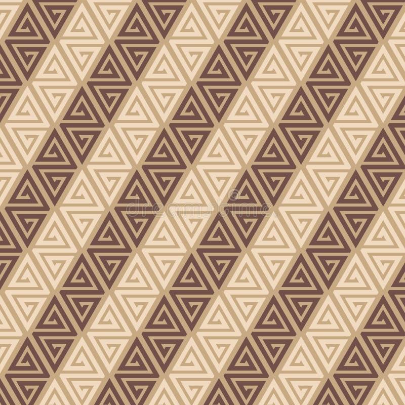 Vijfde model van geometrisch mozaïek stock foto's
