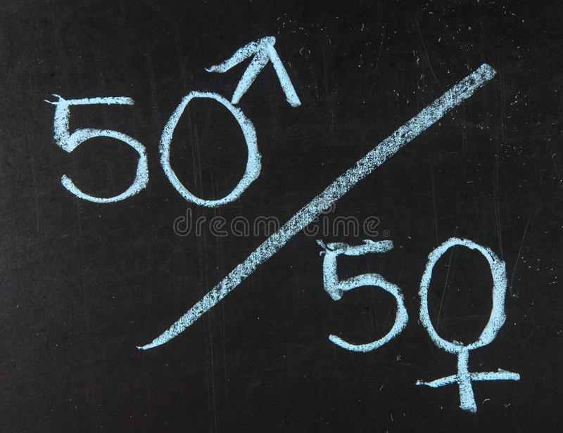 Vijftig percentenconcept royalty-vrije stock foto's