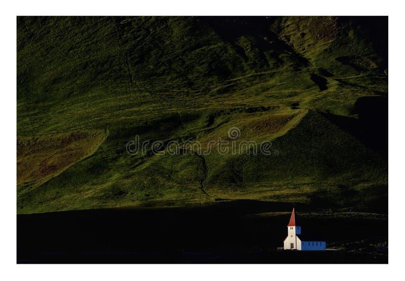 vik Исландии церков стоковые фото