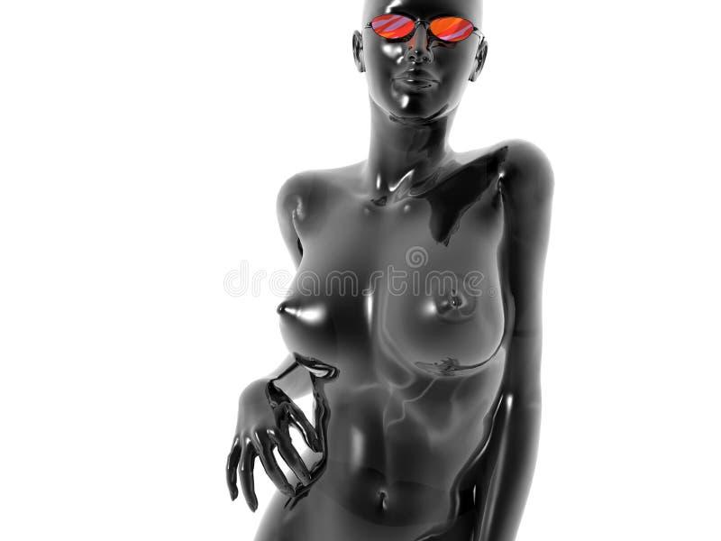 Download Vik Black stock illustration. Illustration of nude, beaty - 1714828