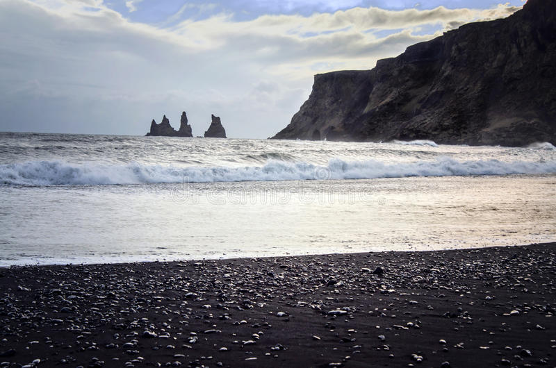 Vik Islanda fotografia stock libera da diritti