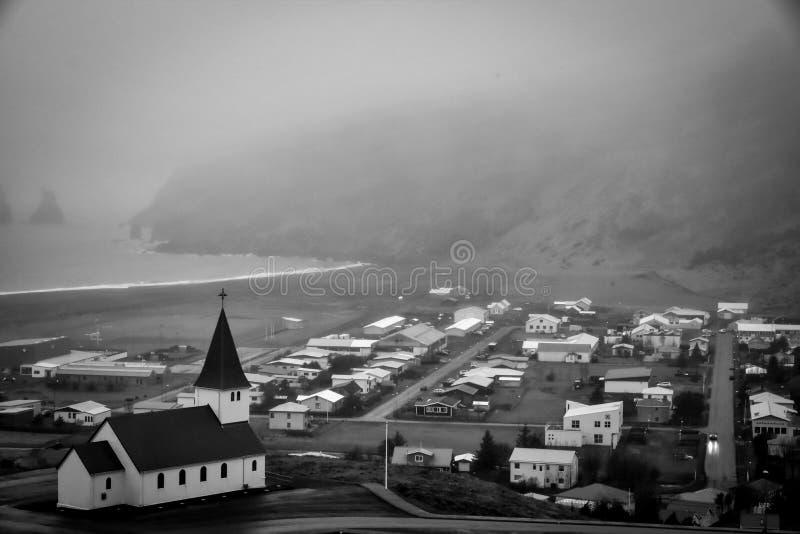Vik, Islandia imagen de archivo libre de regalías