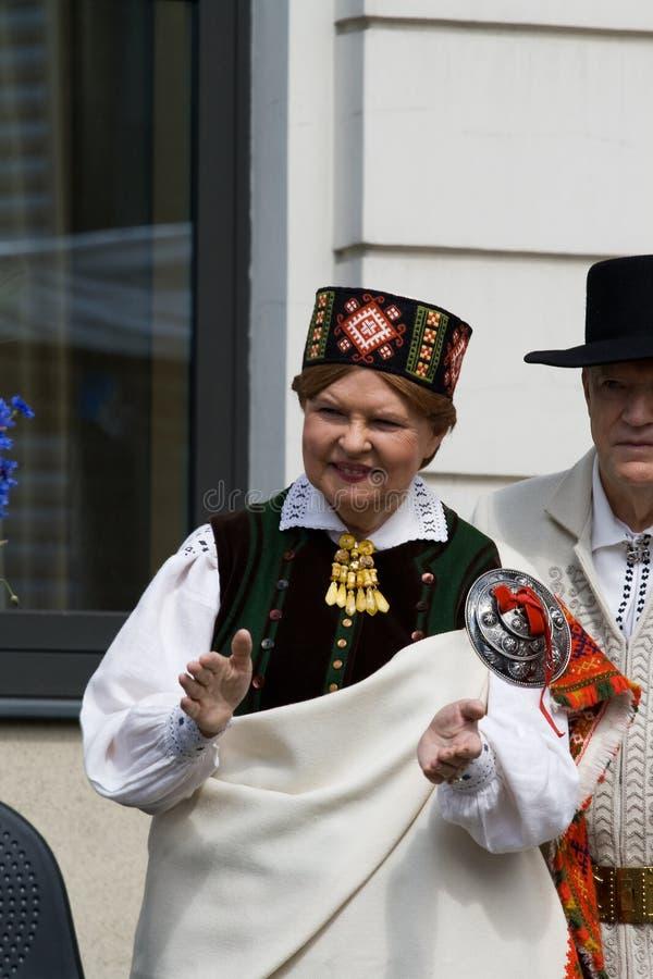vike freiberga prezydent republi vaira vike fotografia royalty free