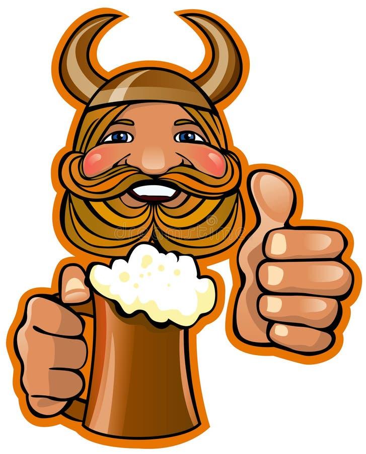viking royalty ilustracja