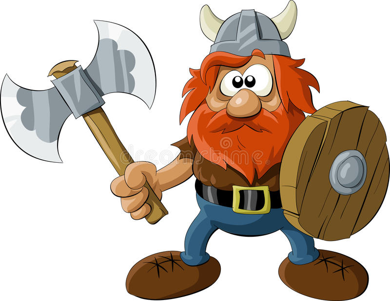 Viking illustration de vecteur