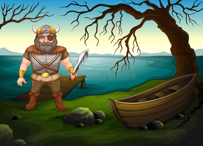 viking vektor abbildung
