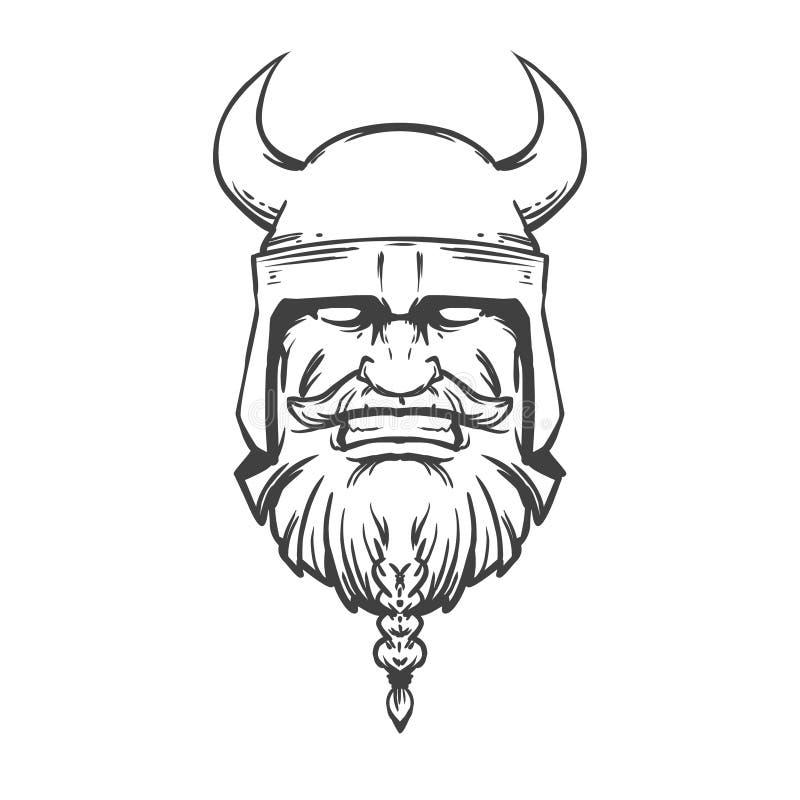 Viking3 ilustración del vector