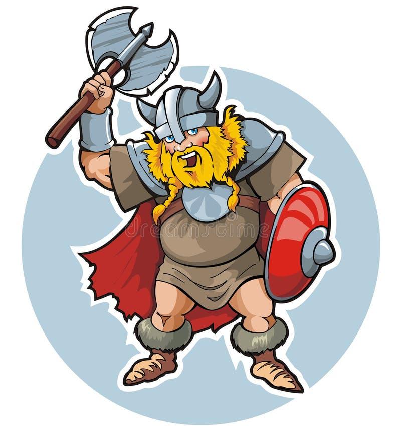 viking ilustracja wektor