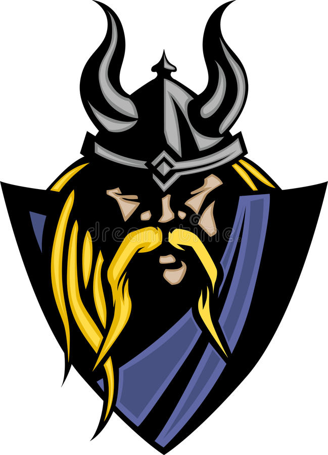 Download Viking / Barbarian Mascot Logo Stock Vector - Illustration of sport, vector: 15244967