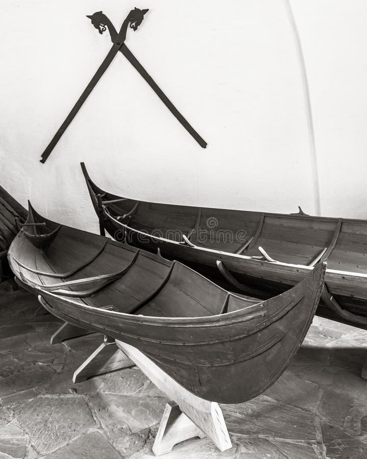 Viking Boat foto de archivo