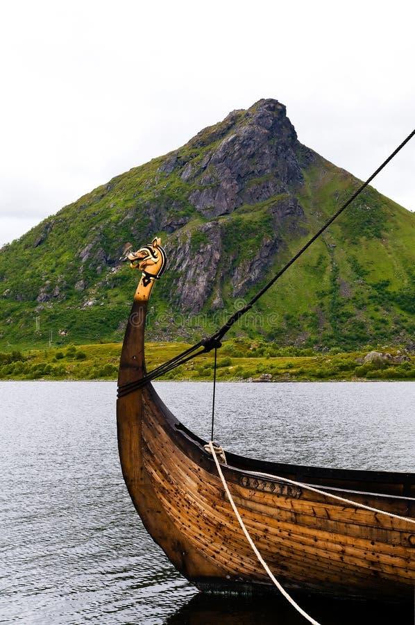 Viking boat royalty free stock image