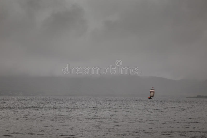 Viking Boat foto de stock royalty free