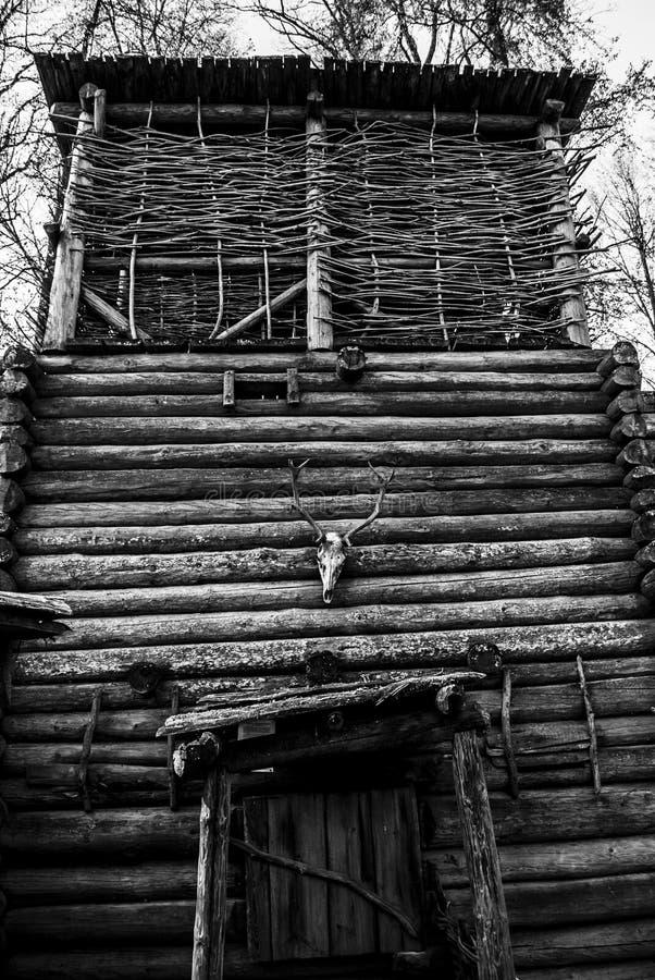 Viking dom obraz stock