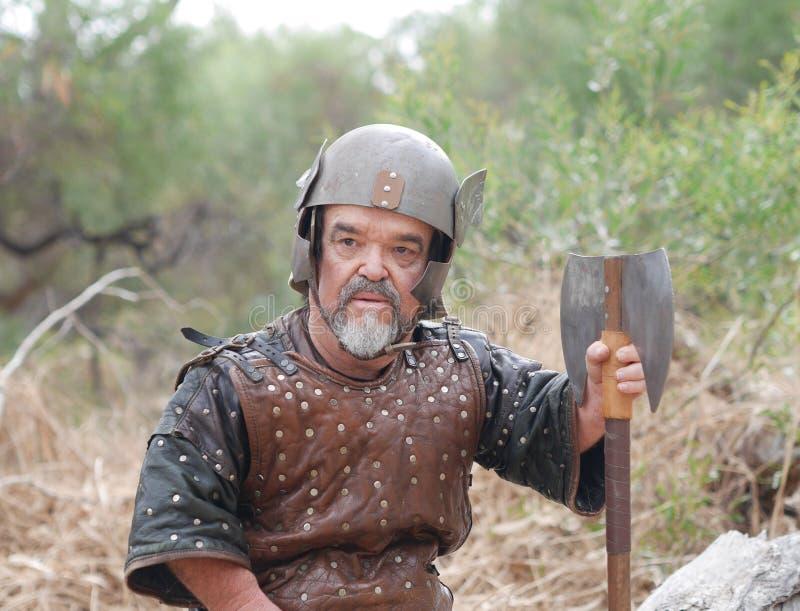 Viking Dwarf fotografía de archivo