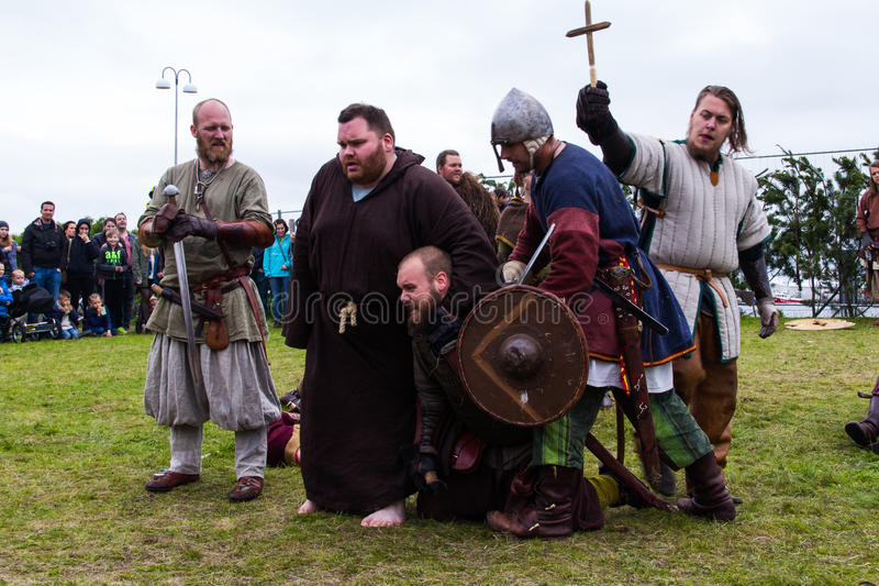 Viking Festival 2014 foto de stock